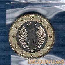 Allemagne 2009 1 Euro G Karlsruhe FDC provenant coffret 60000 exemplaires