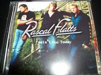 Rascal Flatts Feels Like Today Country CD - Like New