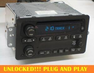 UNLOCKED OEM 2001-05 GM CHEVY VENTURE MONTE CARLO CD RADIO Impala SS Malibu