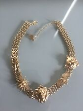 Ela Stone Necklace - Mowgli Range -Matt gold finish