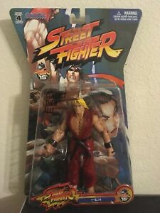 New Street Fighter Player Select Ken Action Figures Jazwares 2005  Video Game