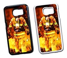 Samsung Galaxy Feuer Feuerwehrmann 2 Hard Tasche  Hülle Case Cover Schutz Handy