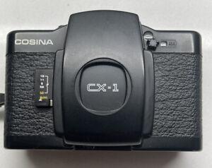 Cosina CX-1 35mm compact camera 33mm f3.5 excellent