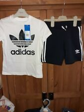 Adidas Shorts And Tshirt Set