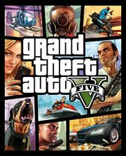 GTA V Grand Theft Auto V (5) Rockstar PC GAME Digital Download Code (no disc)