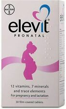 ELEVIT PRONATAL VITAMINS N30 PREGNANCY AND BREASTFEEDING WOMEN