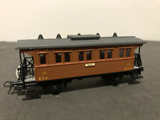 Electrotren 1501/1502 HO Model train - 2-AXLE PASSENGER CARRIAGE - pre-owned