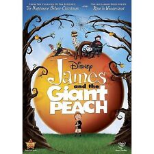 James And The Giant Peach (DVD,1996)