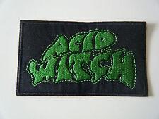 ACID WITCH PATCH Embroidered Iron On Sleep Stoner Doom Monkey King Badge NEW