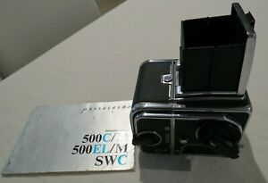 500 C/M HASSELBLAD VIEWER A12 FILM BACK 6 X 6 WINDER AS NEW VINTAGE CAMERA
