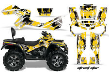 Can-Am Outlander Max ATV Graphic Kit 500/800 AMR Decal Sticker Part STAR YEL