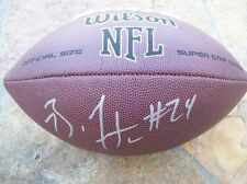 *BRANDON FLOWERS*SIGNED*AUTOGRAPHED*FOOTBALL*KANSAS CITY*CHIEFS*
