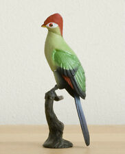 Retired Kaiyodo RED DATA Fischer's Turaco Bird Birds mini figure figurine