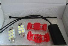 LED 500 kit 2 pezzi LUCE TARGA con resistenza CANBUS