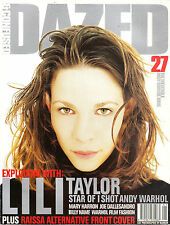 DAZED & CONFUSED #27 ANDY WARHOL ISSUE Lili Taylor RAISSA Billy Name MARY HARRON