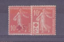 FRANCE STAMP YVERT 146/147 ANNEE COMPLETE 1914 : 2 TIMBRES SEMEUSE NEUFS xx LUXE