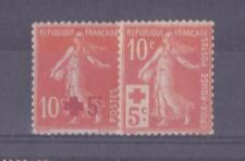FRANCE STAMP YVERT 146/147 ANNEE COMPLETE 1914 : 2 TIMBRES SEMEUSE NEUFS xx TB