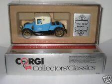 """Corgi No: C862 """"1910 12/16 Renault""""- Blue (Boxed/Original 1960's)"""