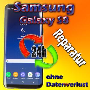24 St. Samsung Galaxy S8 SM-G950F Displayglas Austausch, Ladebuchse Reparatur
