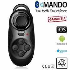 MANDO DISTANCIA bluetooth juegos gafas VR realidad smartphone iOs Android NEGRO