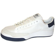 adidas Rod Laver Mens G99864 White Navy Tennis Shoes Athletic SNEAKERS Size 9.5