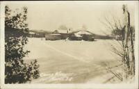 Val Morin Quebec Camp Moupas c1940 Real Photo Postcard