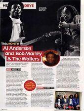 Hello, Goodbye Al Anderson & Bob Marley Mag Cutting