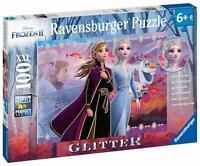 12868 Ravensburger Disney Frozen 2 XXL100pcs with Glitter Jigsaw Puzzle Elsa Ann