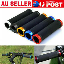 Double Locking HandleBar Grips Aluminum alloy sleeve Mountain Bike Cycle Bicycle