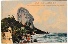 Ansichtskarte Rio de Janeiro - Zuckerhutfelsen von Praya vermelha aus gesehen