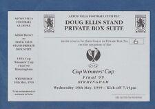 Orig.Ticket   EC 2  1998/99  FINALE  RCD MALLORCA - LAZIO ROM - VIP  !!  RARITÄT