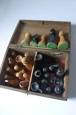 Deutsche Bundesform*Schachspiel*von Hedewig's Leipzig*Ohne OrigBox* mit Holz Box