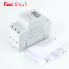 THC15A Digital LCD Power Programmable DIN Timer Time Switch Relay 12/24/110/220V