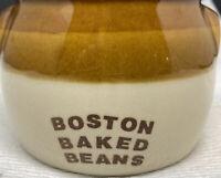 Vintage Official Boston Baked Beans Ceramic Crock Pot Jar The Pot Shop Stoneware