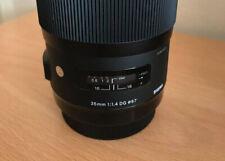 Sigma 35mm Objektiv f.14/ Canon Mount