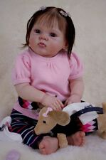 REBORN DOLL SUPPLIES CuDDLeS DoLL KiT By DoNnA RuBeRt WITH DOLL BODY AND EYES