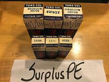 Tung Sol 5At8, 5An8, 6Bq6Gtb/6Cu6, 6De6,6W6Gt, 12Bq6Gtb/12Cu6 Tubes (Not Tested)