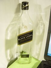 1 JOHNNIE WALKER BLACK LABEL 750 ml EMPTY SCOTCH WHISKEY EMPTY BOTTLE