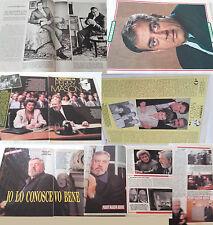 RAYMOND BURR_Perry Mason_1962-1993_italian clippings_lotto articoli da riviste