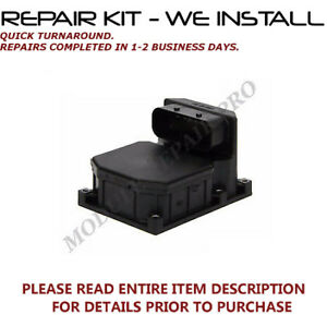 REPAIR 4 2001-2008 BMW 750Li 750i 760Li 760i  ABS Pump Control Module WE INSTALL