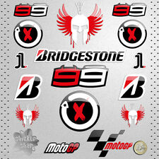 STICKER JORGE LORENZO MOTO X B PEGATINA DECAL AUTOCOLLANT AUFKLEBER ADESIVI  貼紙