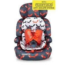 Cosatto Zoomi Car Seat Group 1 2 3 Suitable From 9kg Easy Install Mister Fox