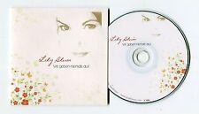 Lily Blum - cd-PROMO - WIR GEBEN NIEMALS AUF © 2014 - German-2-Track-CD