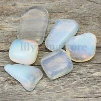6pcs Opalite Tumblestone Polished Tumbled Stone Healing Crystal Gemstone 20-30mm