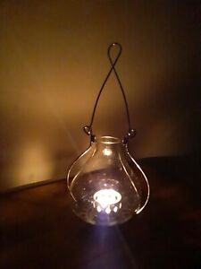 Steeple Candle Lantern Hurricane Lamp Farmhouse Country Votive Holder Rustic