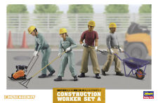 Hasegawa 66003 - 1/35 Construction Worker Set a - New