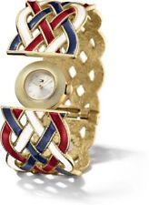 Silberne Armbanduhren im Luxus-Stil mit 12-Stunden-Zifferblatt