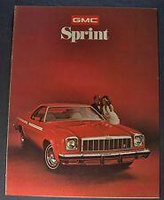 1975 GMC Sprint Sales Brochure Folder SP Excellent Original 75