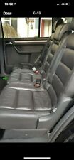 VW TOURAN 2ND ROW LEATHER SEATS COMPLETE CADDY CONVERSION KIT