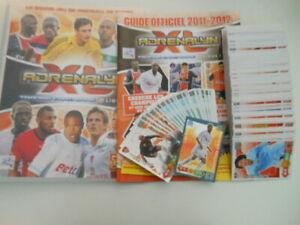 Panini Adrenalyn XL Foot 2011-2012 Classeur + Guide + 220 cartes différentes